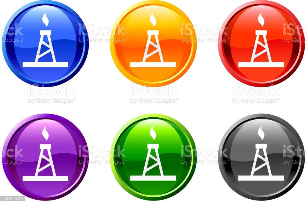 natural gas royalty free vector icon set royalty free vector royalty-free stock vector art