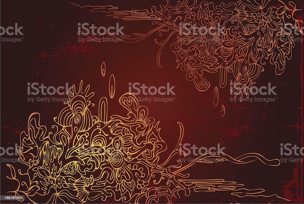 natural imagination royalty-free stock vector art