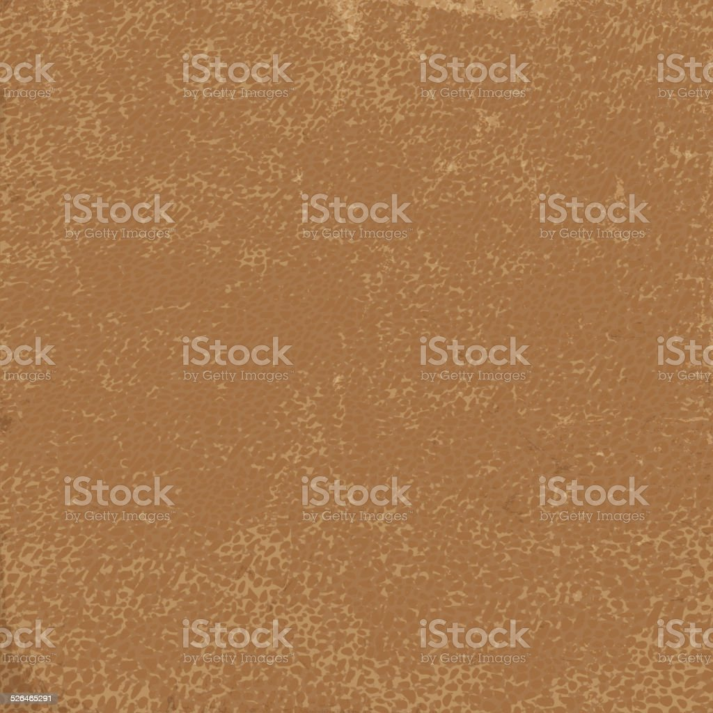 Natural leather texture. Useful as background for design-works. vector art illustration