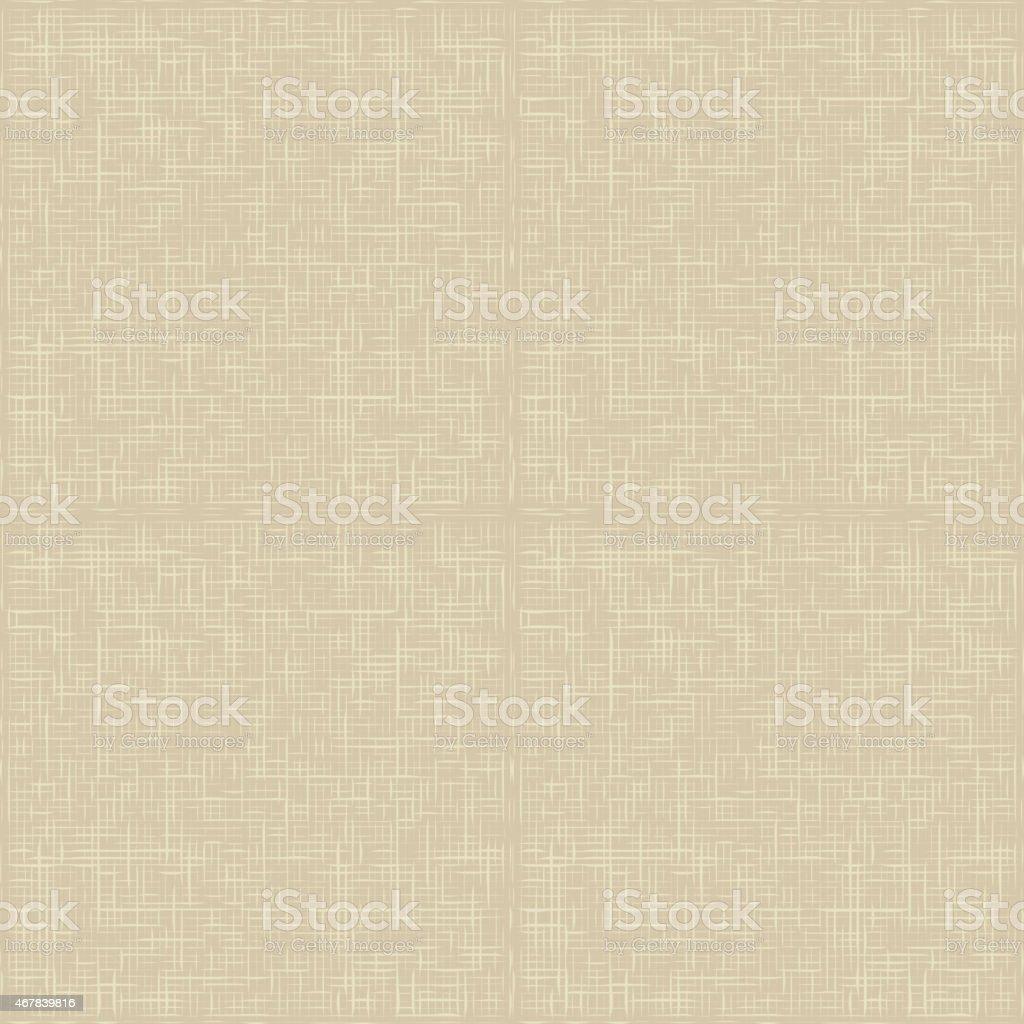 Natural linen striped vector art illustration