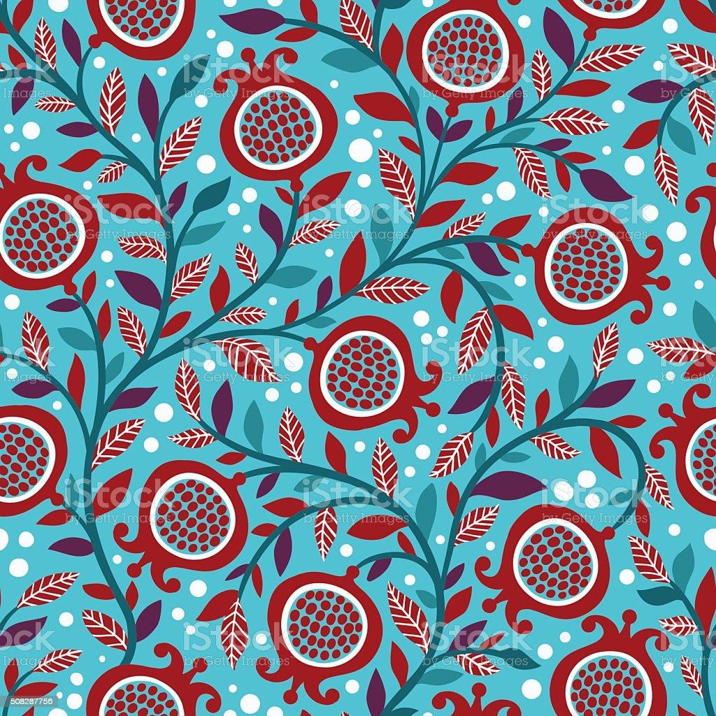 Natural print texture. vector art illustration