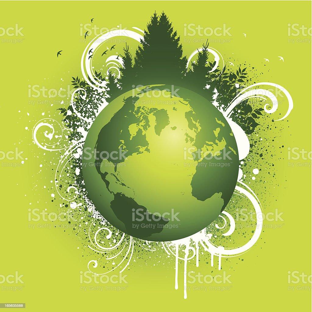 Natural world royalty-free stock vector art