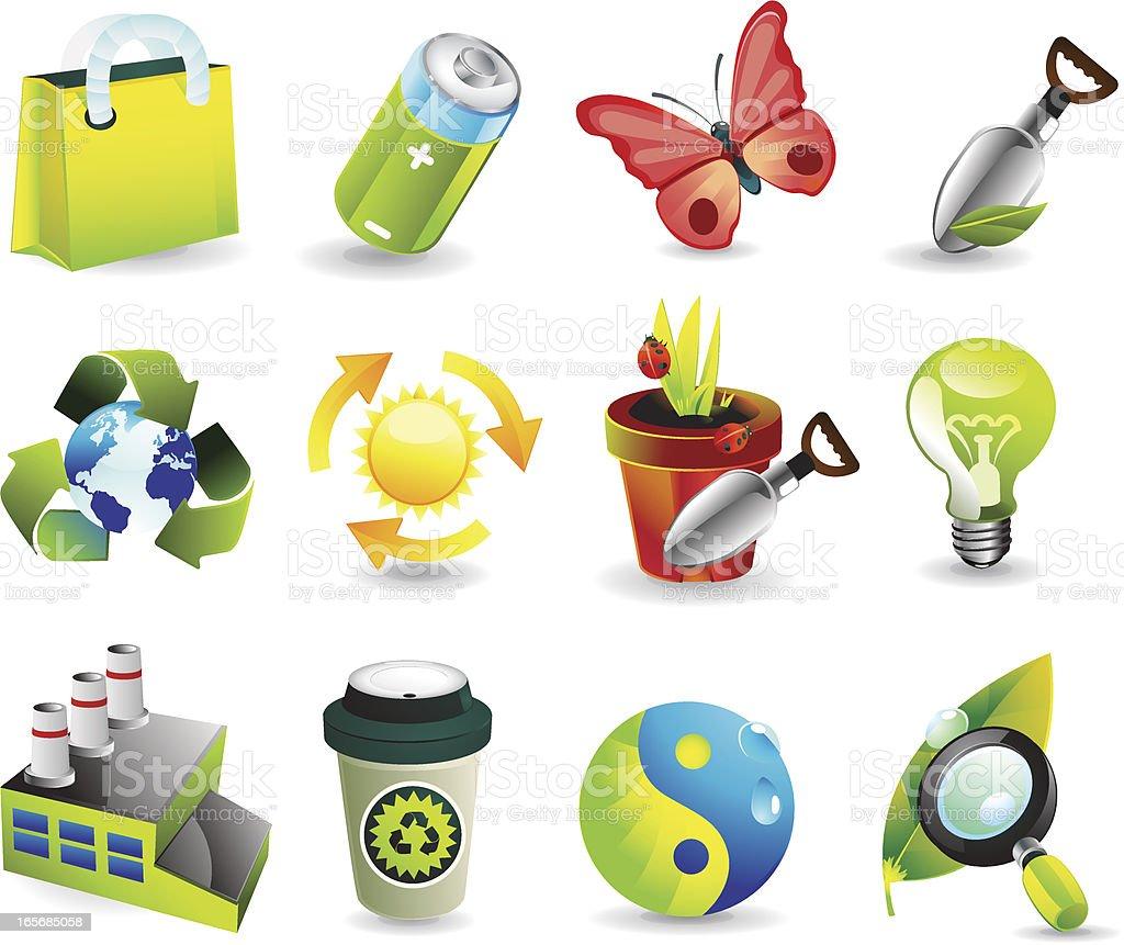 Nature & Green energy royalty-free stock vector art