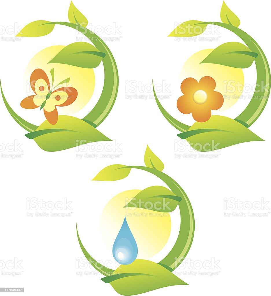 Nature and Environment – Vector Illustration vector art illustration