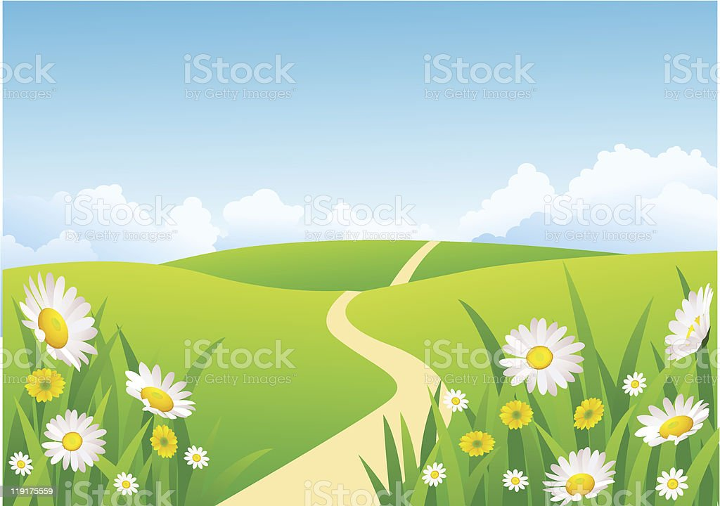 Nature background royalty-free stock vector art