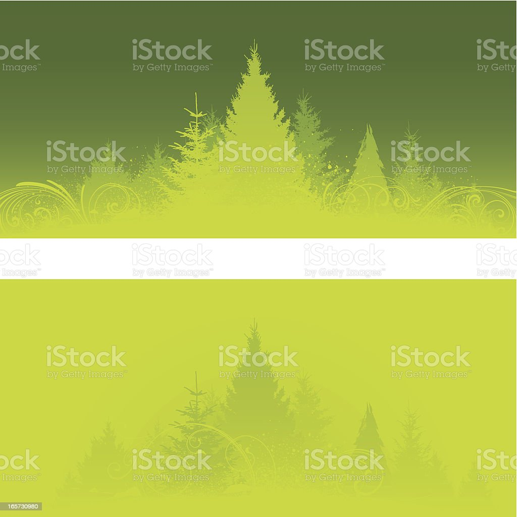 Nature backgrounds royalty-free stock vector art