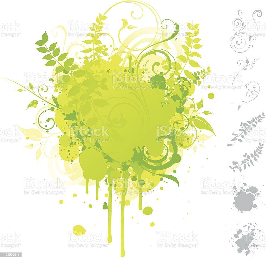 Nature burst royalty-free stock vector art