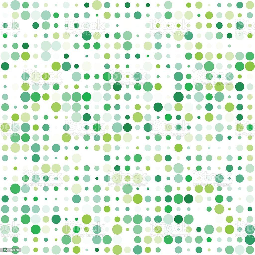Nature Circle Variation Pattern vector art illustration