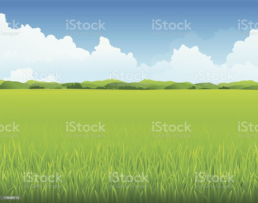 Nature Landscape royalty-free stock vector art
