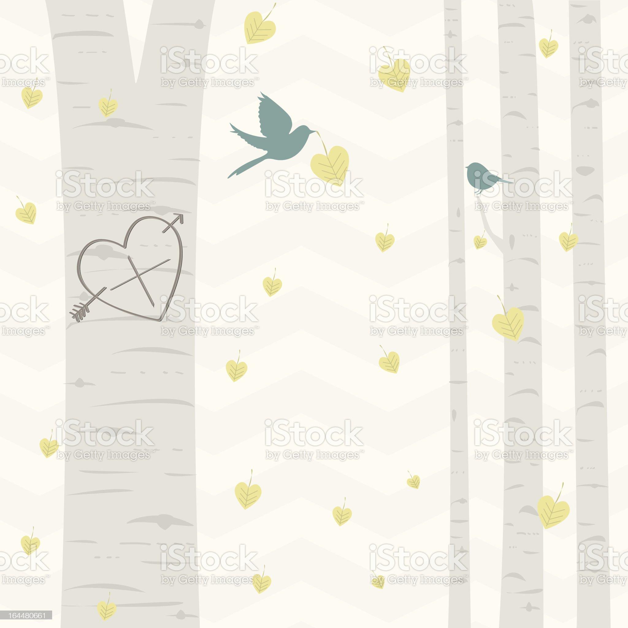Nature Love royalty-free stock vector art