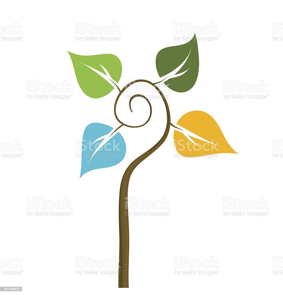 nature seasons royalty-free stock vector art