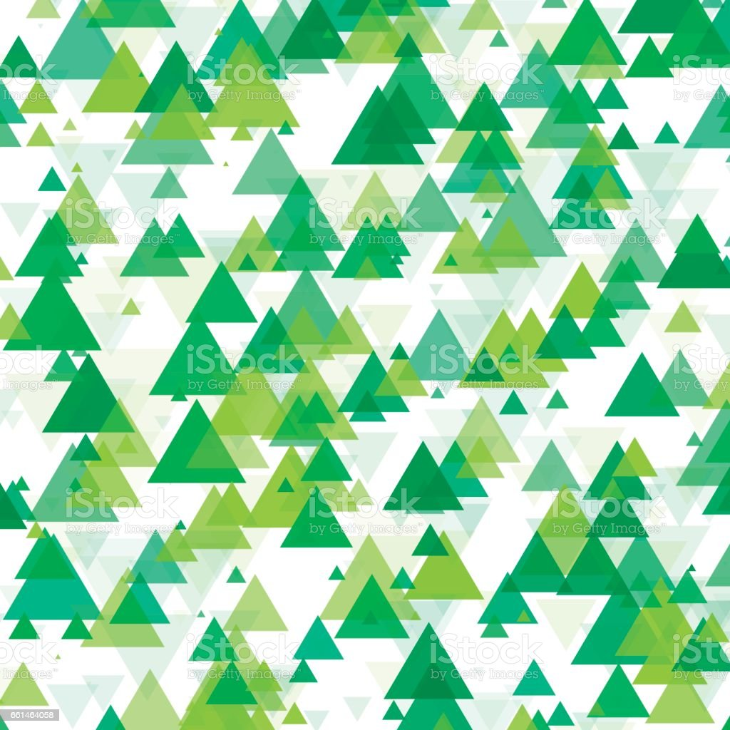 Nature Triangle Geometric Graphic Pattern vector art illustration