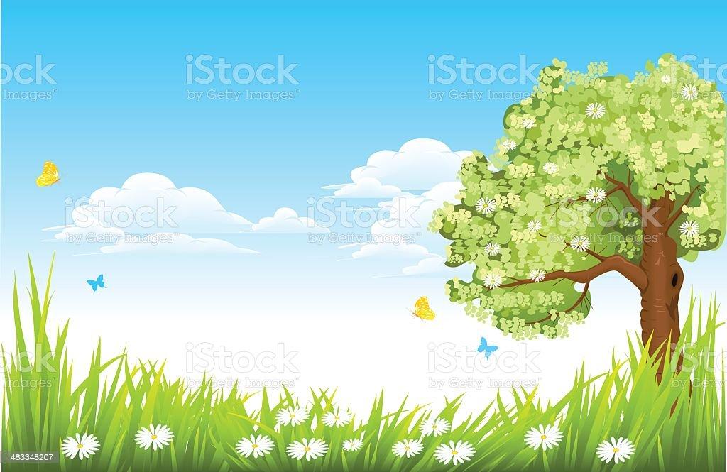 nature royalty-free stock vector art