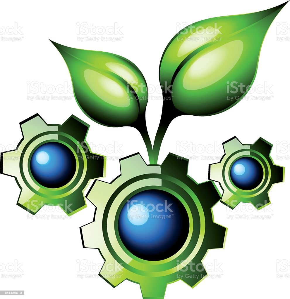 Nature's engineering royalty-free stock vector art