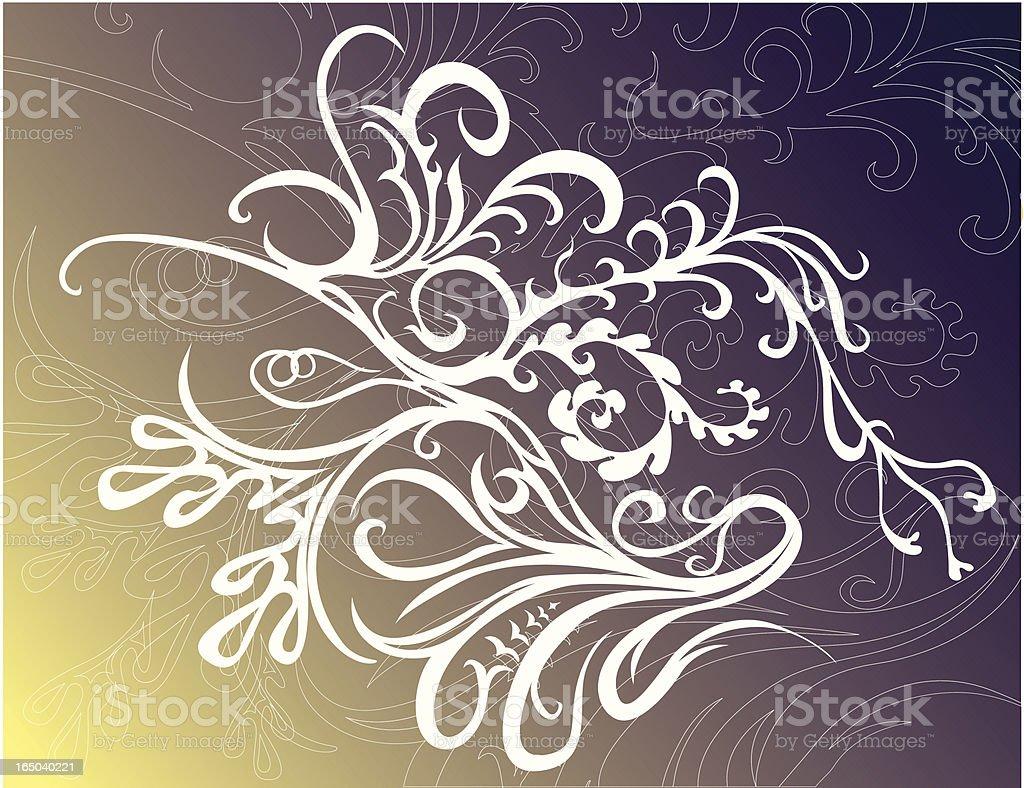 der Natur-song Lizenzfreies vektor illustration