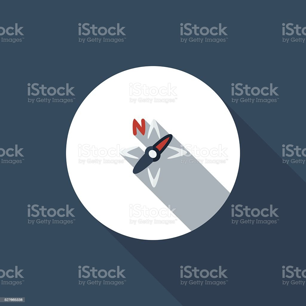 Navigate vector art illustration
