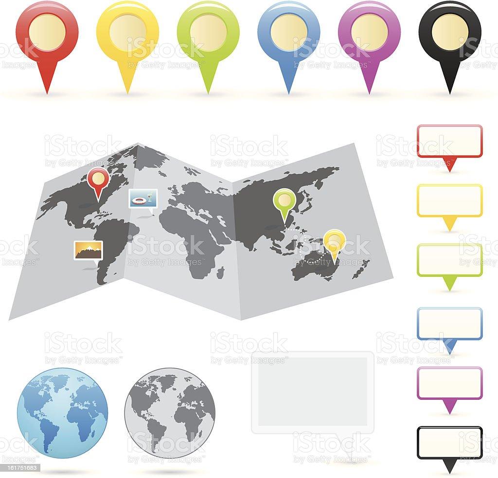 Navigation Series royalty-free stock vector art