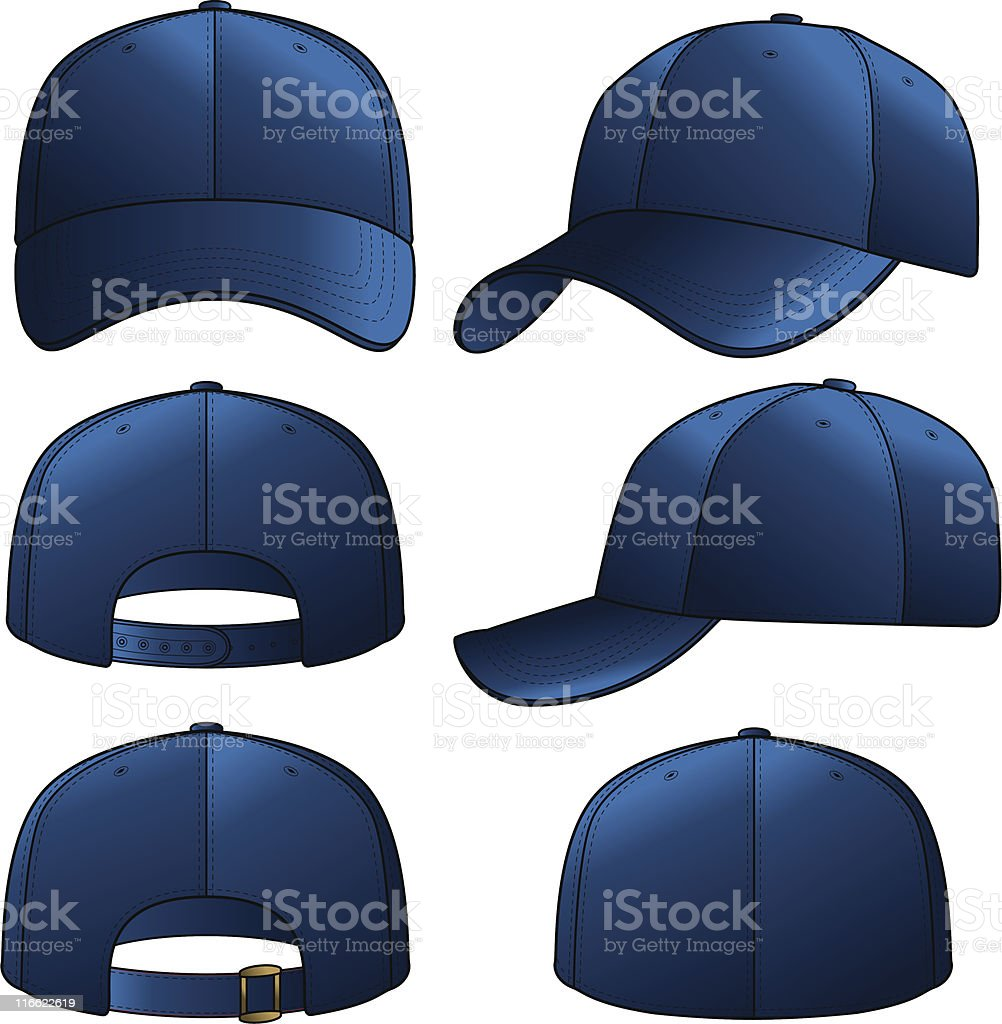 Navy Cap vector art illustration