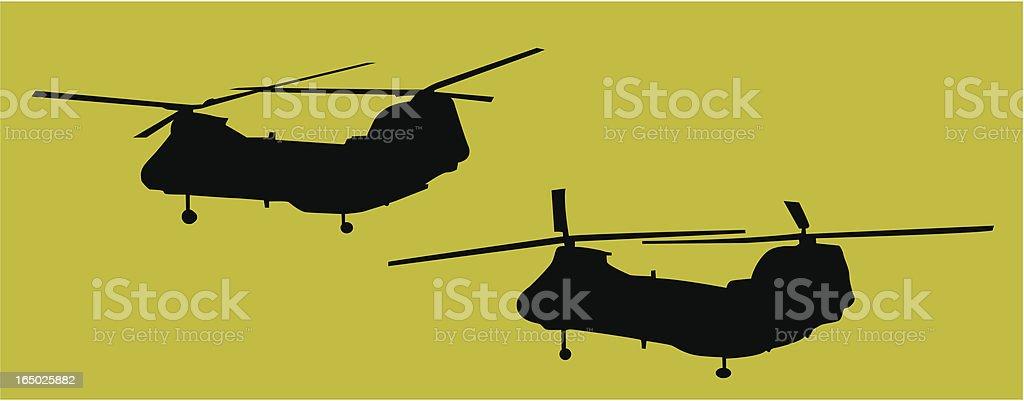 Navy Cargo Choppers ( Vector ) royalty-free stock vector art
