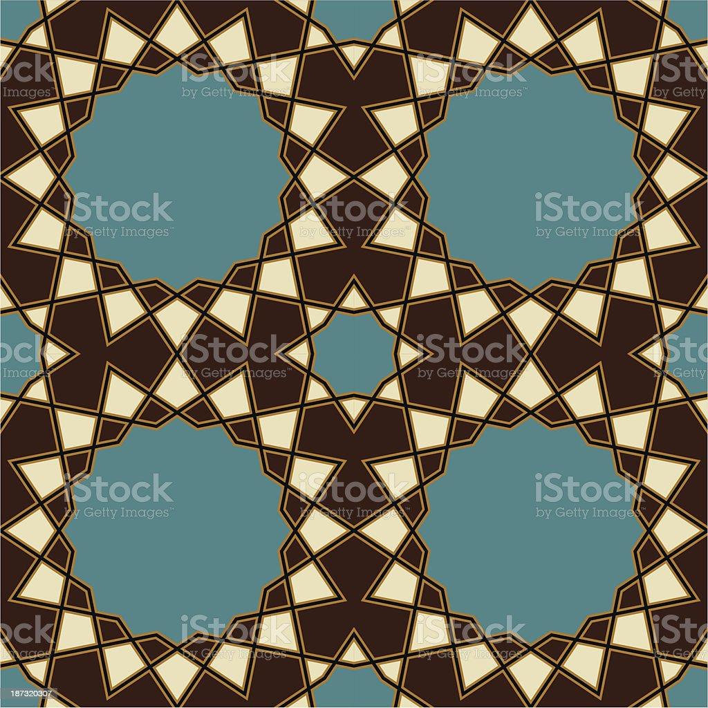 Nawa Seamless Pattern One royalty-free stock vector art