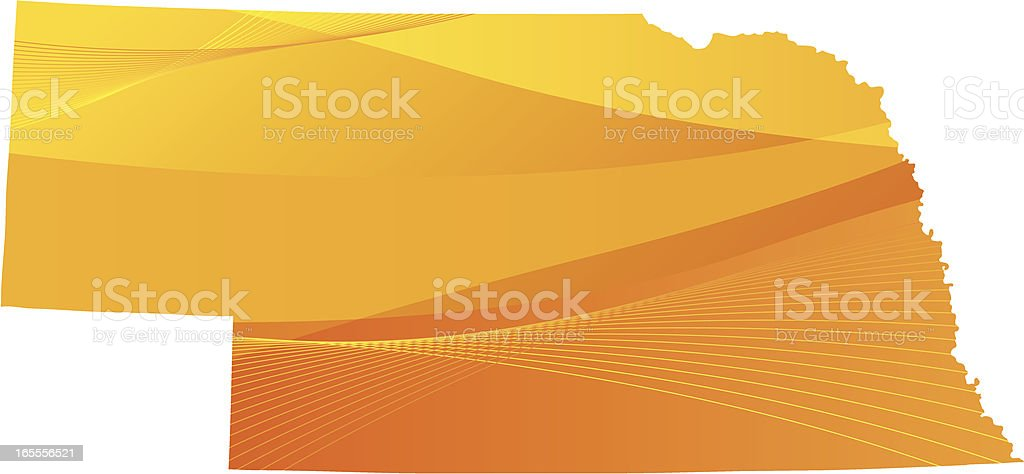 Nebraska royalty-free stock vector art
