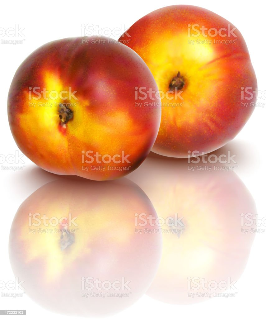 nectarines royalty-free stock vector art
