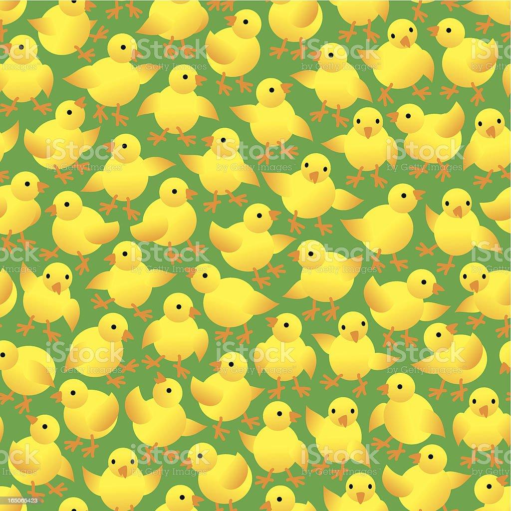 Nestlings royalty-free stock vector art