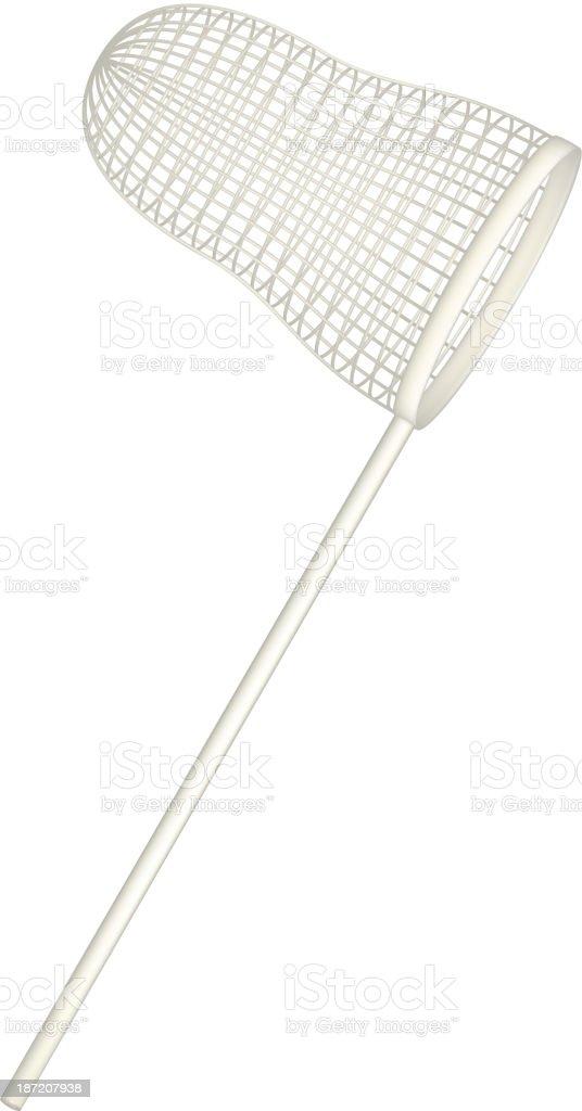 Net in light design vector art illustration