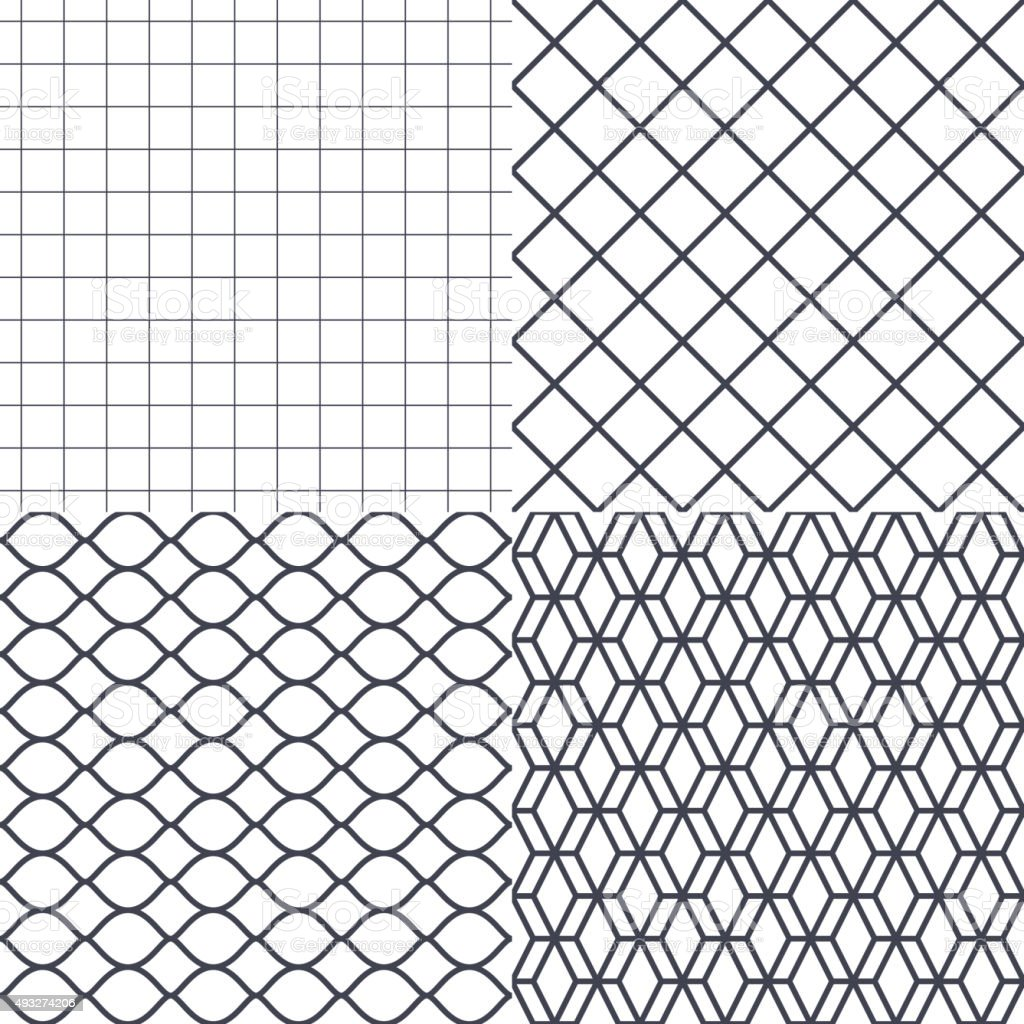 Net, wire and cage background vector vector art illustration