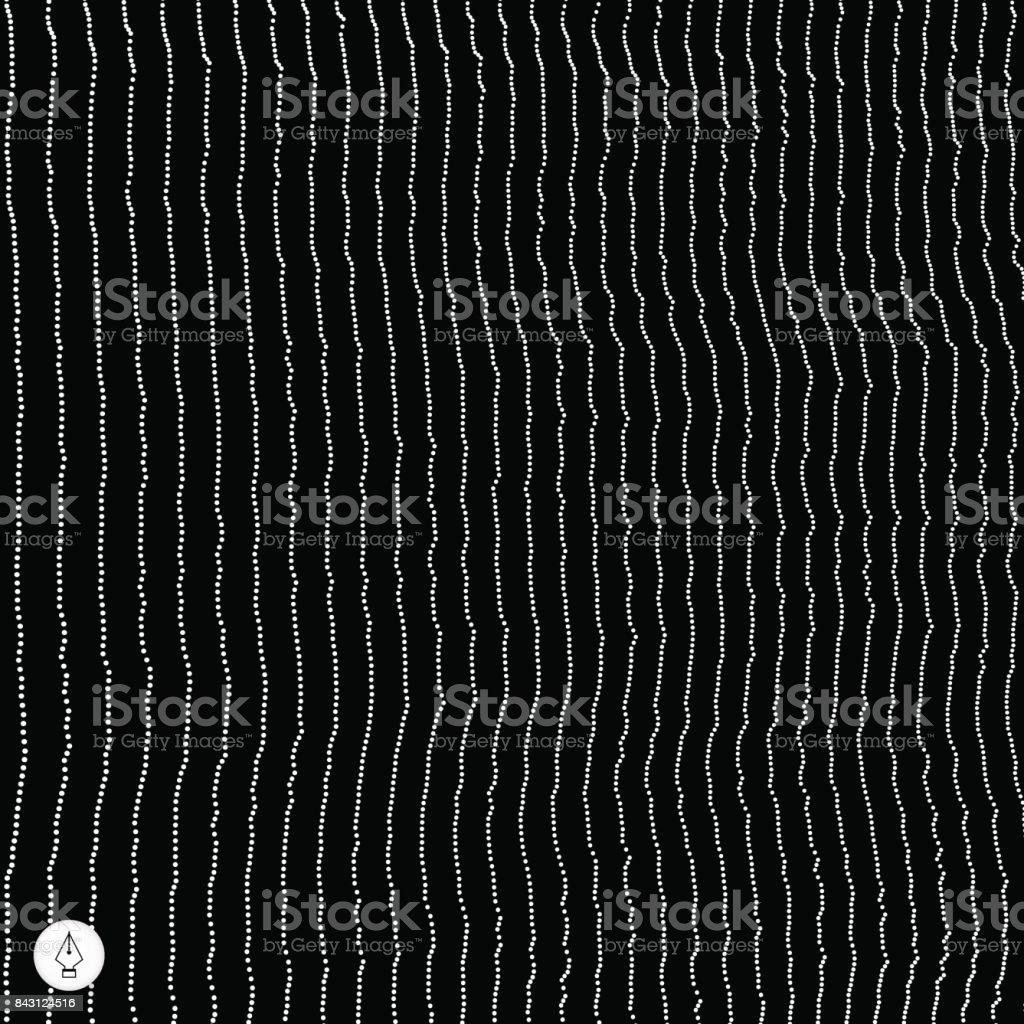 Network abstract background. 3d technology vector illustration. vector art illustration