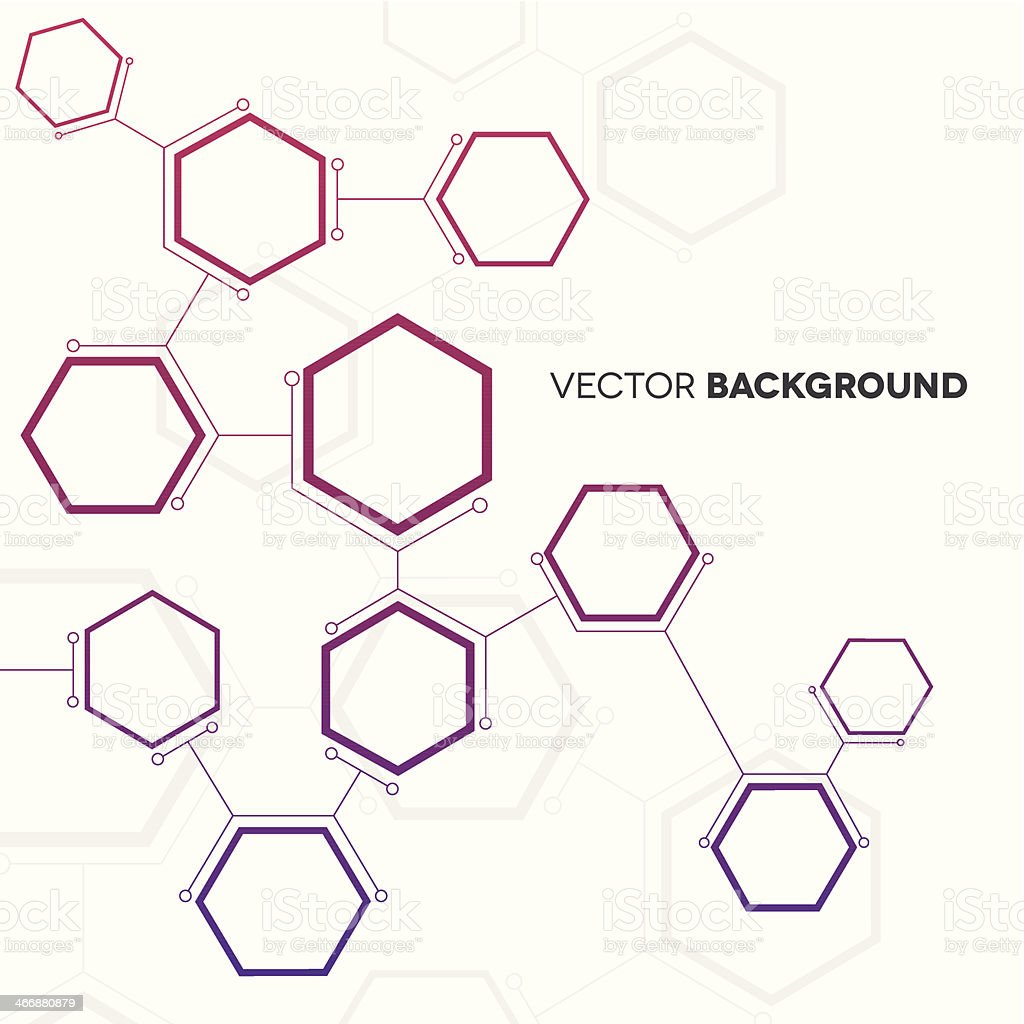 Network Background vector art illustration