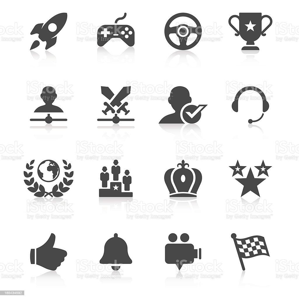 Network Gaming Icon Set | Unique Series vector art illustration