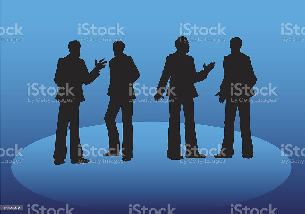 Networking royalty-free stock vector art