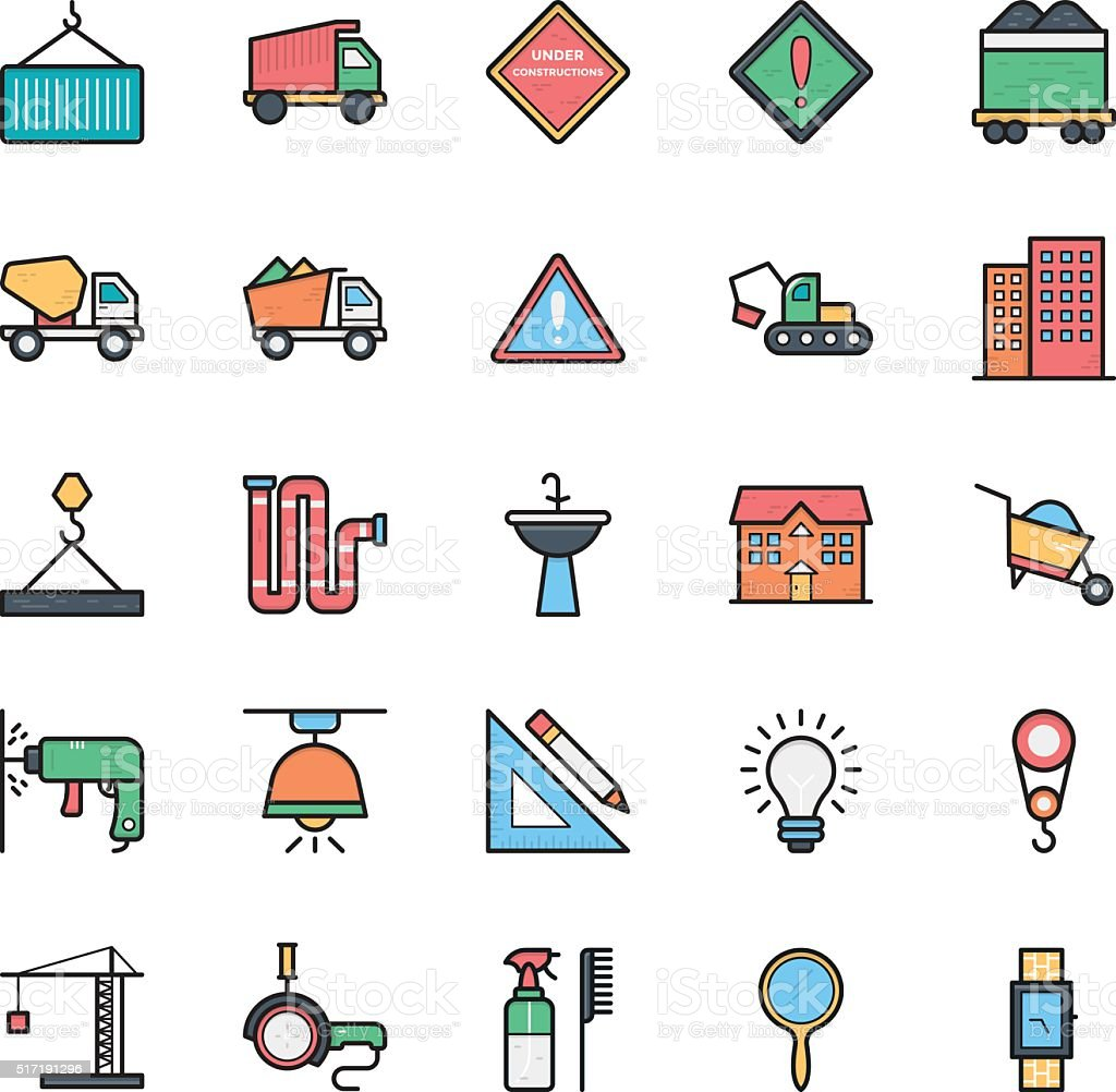 Networking, Web, User Interface and Internet Vector Icons 22 vector art illustration