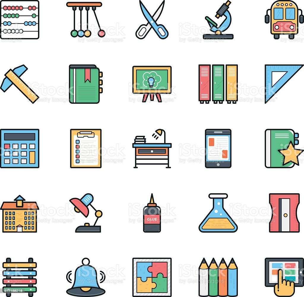 Networking, Web, User Interface and Internet Vector Icons 8 vector art illustration
