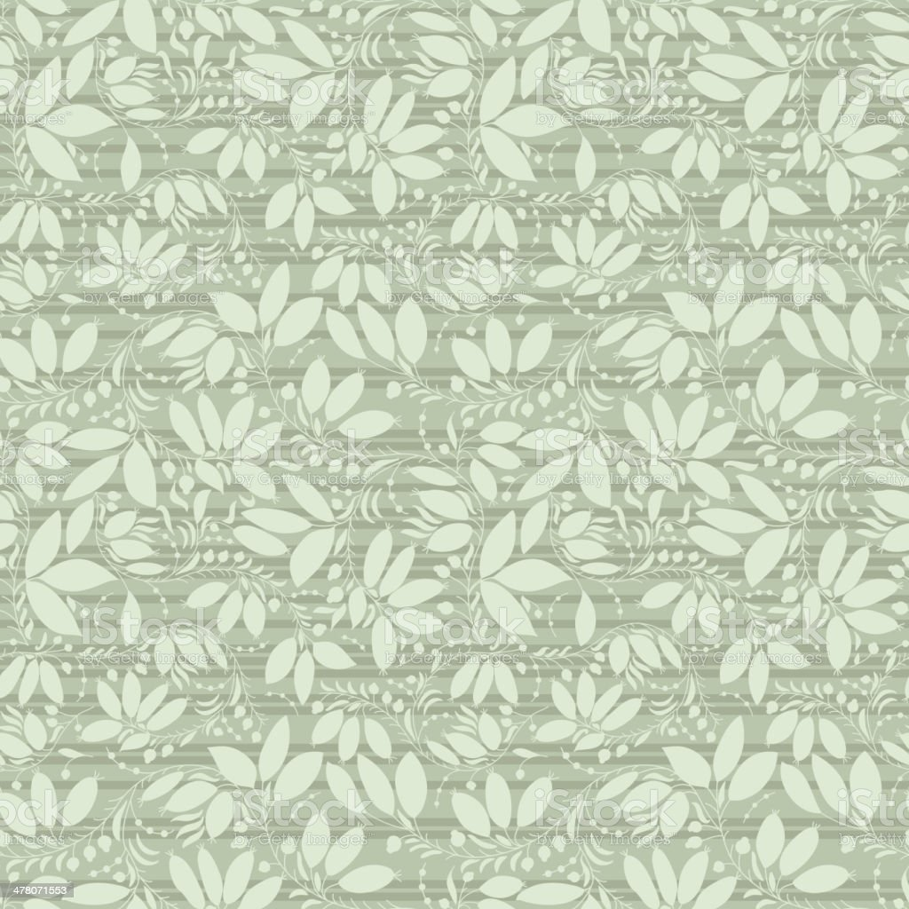 neutral floral background. swirl and curve vector art illustration