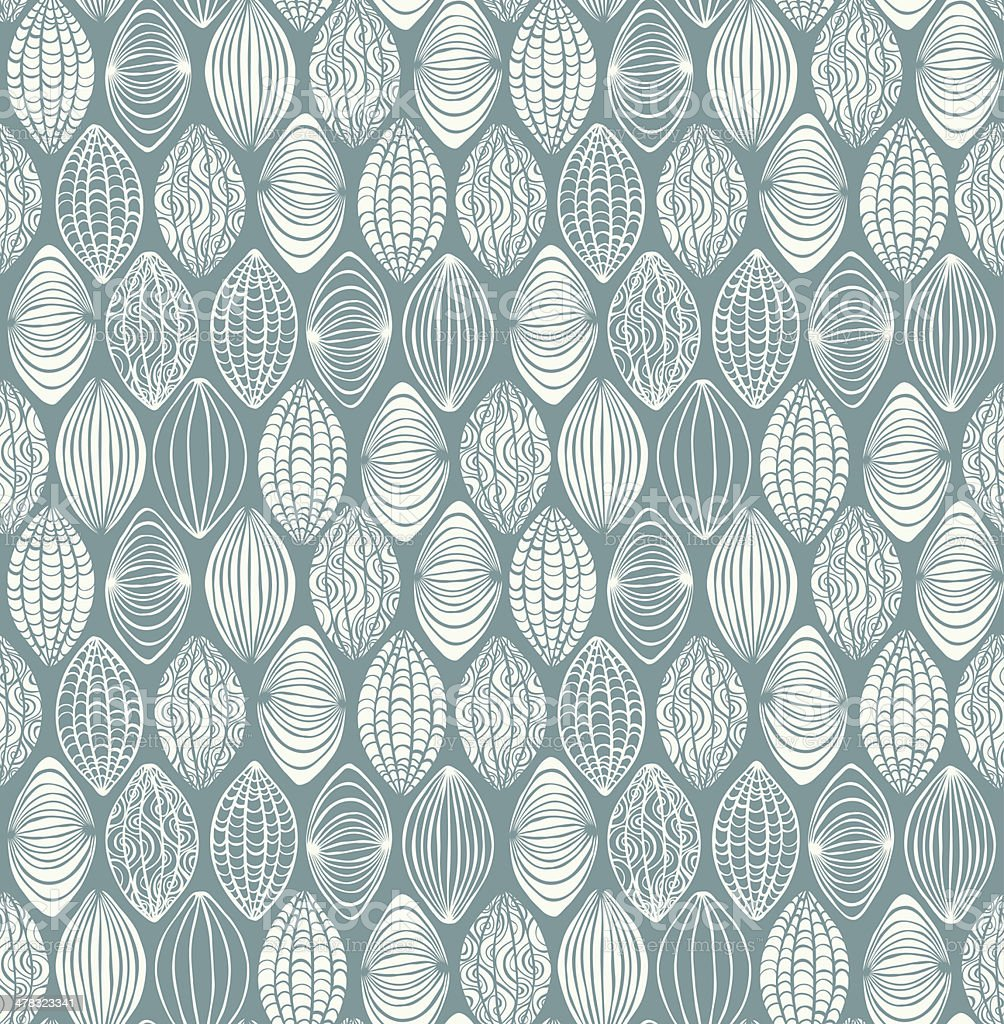 Neutral white seamless graphic texture vector art illustration