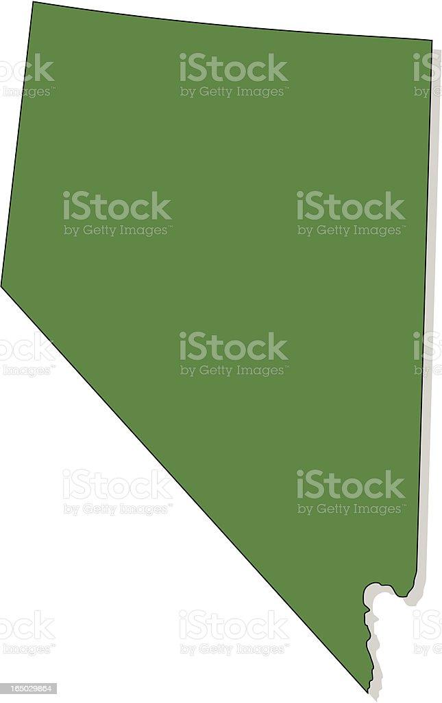 Nevada royalty-free stock vector art