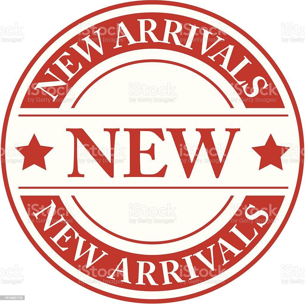 New arrivals  - VECTOR royalty-free stock vector art