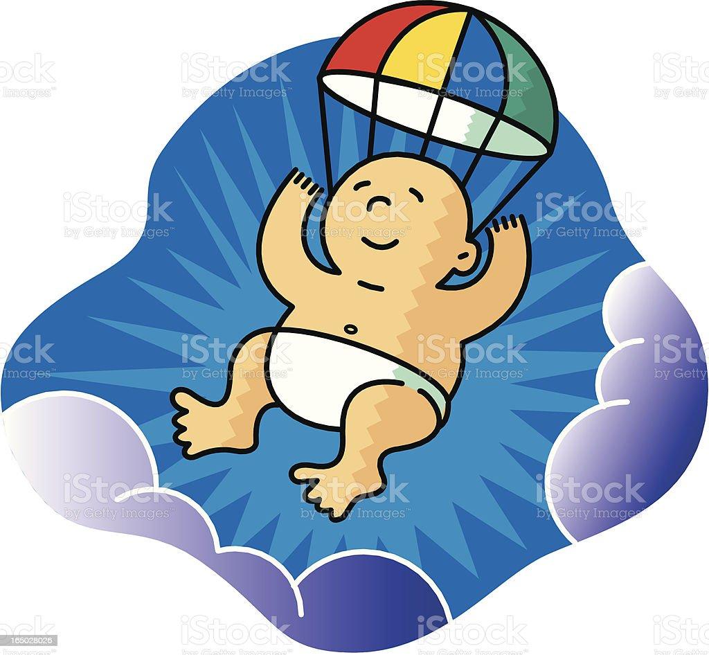 New Baby royalty-free stock vector art