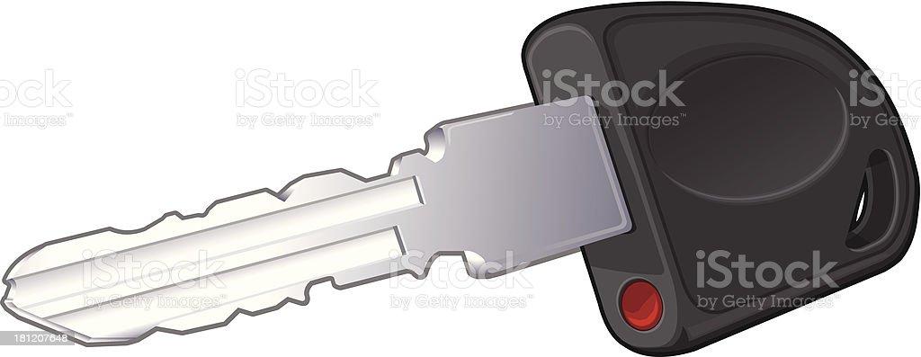 New Car Keys royalty-free stock vector art