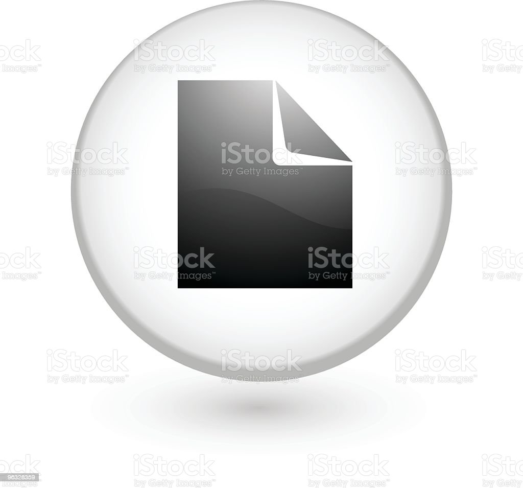 New document vector icon royalty-free stock vector art