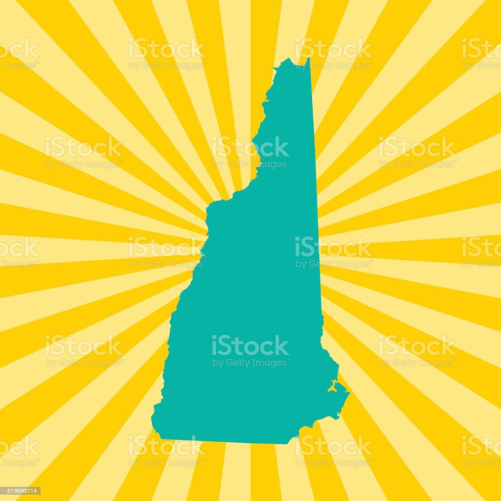 New Hampshire vector art illustration