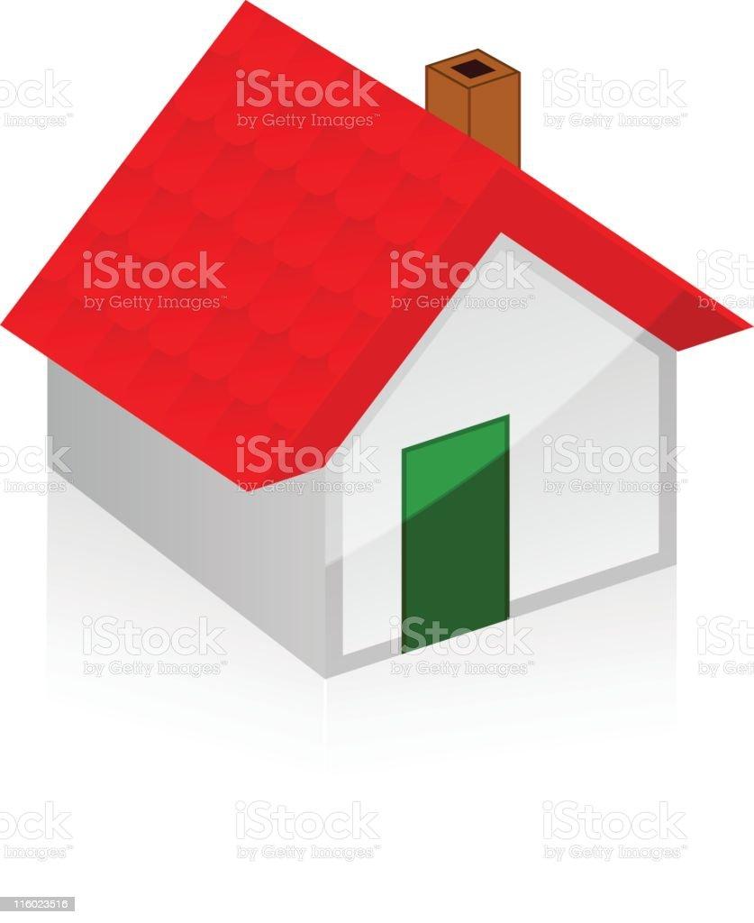 new home concept vector art illustration