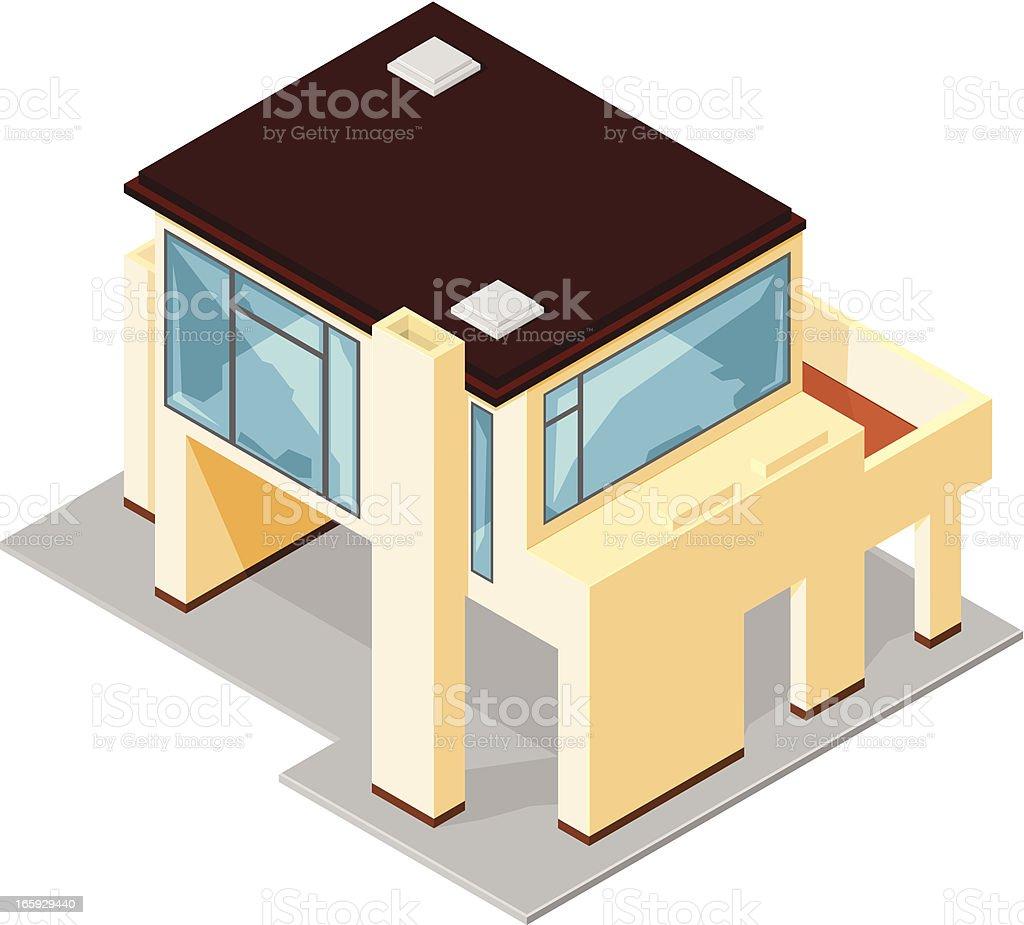 New House royalty-free stock vector art
