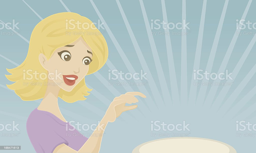 New Product Showcase royalty-free stock vector art