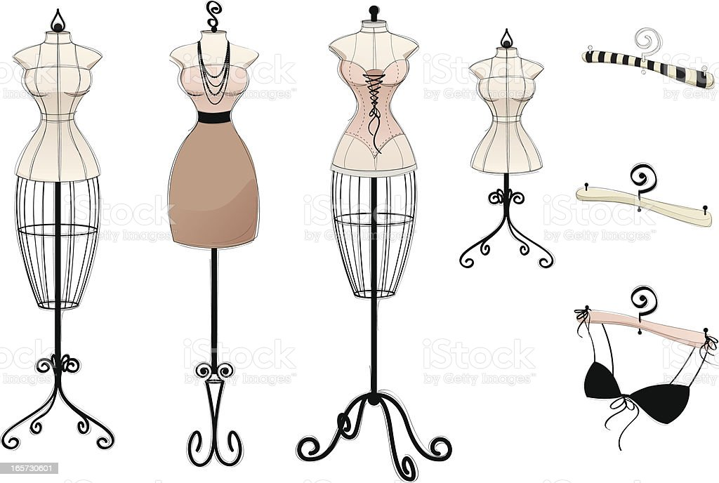 New Vintage Collection vector art illustration