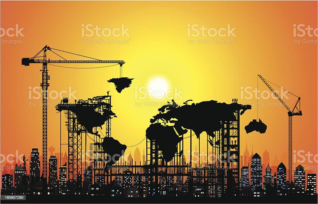 New World royalty-free stock vector art