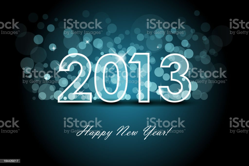 New year background royalty-free stock photo