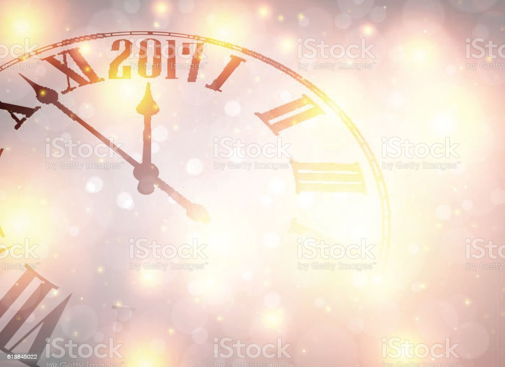2017 New Year Background stock vector art 618845022 | iStock